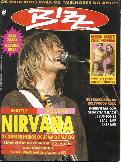 Revista Bizz 80-xuxa,raul Seixas,rita Lee,nirvana