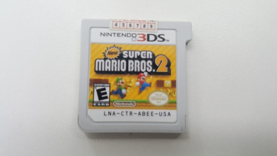 New Super Mario Bros 2 - 3ds - Original - Sem Capa