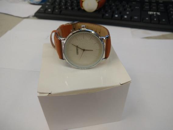 Relógio Prateado Geneva Top O Melhor Da China