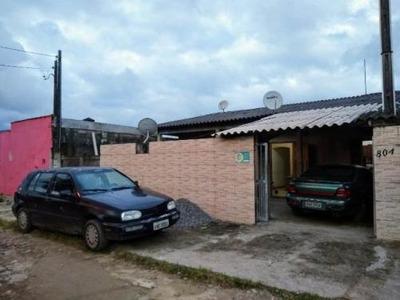 Casa Com 2 Dormitórios Na Praia, Em Itanhaém - 5350/p