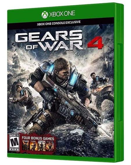 Gears Of War 4 - Xbox One [ Mídia Física E Lacrada ]