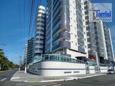 Apartamento Em Praia Grande, 3 Dormitórios Sendo 3 Suítes, Sala Com Varanda Goumert, No B. Maracaná, Ap2066 - Ap2066