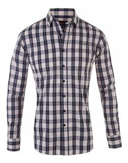 Camisa Escocesa Elastizada Importada - Quality Import Usa