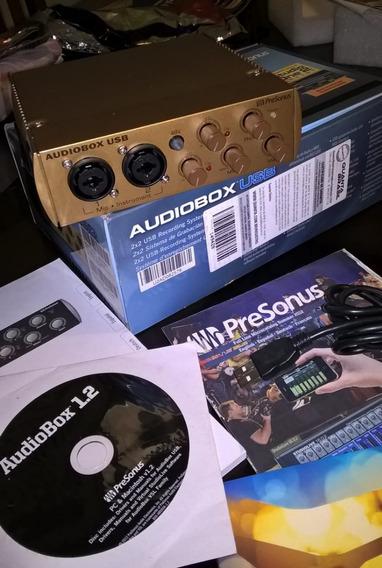 Interface Presonus Audio Box Usb.