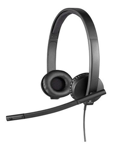 Auricular Headset Logitech Stereoh650e 981-000518