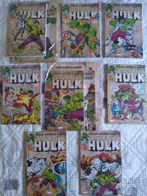 Hq Coleção Historica Marvel O Incrivel Hulk Coleção Completa