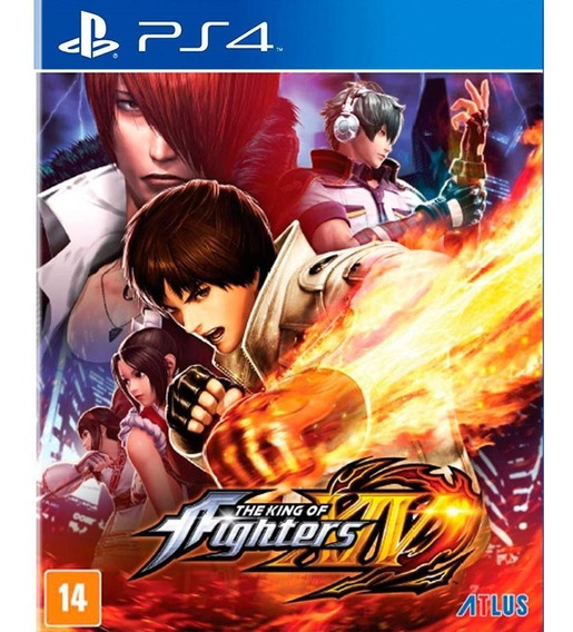 Jogo King Of Fighters 14 Ps4 ² The Envio Ja Promoção Kof Xiv