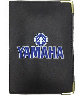 Carteira Porta Documento Carro Moto Veículo Cnh Rg Yamaha