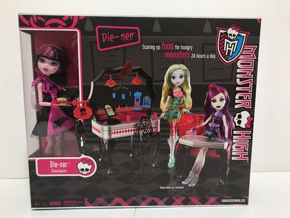 Monster High Die-ner Draculaura Comedor