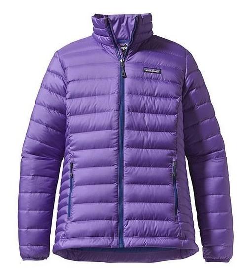 Patagonia Campera De Pluma Mujer Down Sweater Jacket Violeta