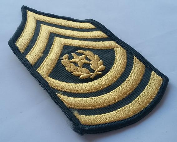 Patche Divisas Sargento (command Major Sergeant) Us Army