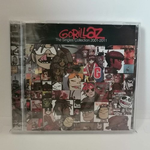 Gorillaz The Singles Collection 2001-2011 Cd Nuevo