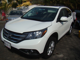 Honda Crv Exl 2012 Blanca