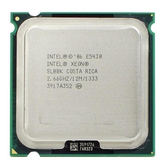 Intel Xeon E5430 Processador 2.66 Ghz 12m 1333 Socket Lga771