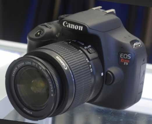 Câmera Profissional Cânon T5