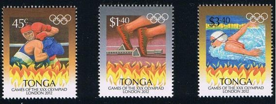 Juegos Olímpicos 2012 - Tonga - Serie Mint