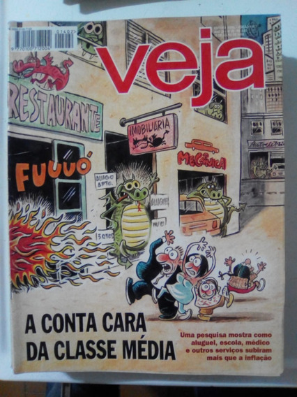 Revista Veja 1401 Laranjeiras Sergipe Maite Proença Jobs1995