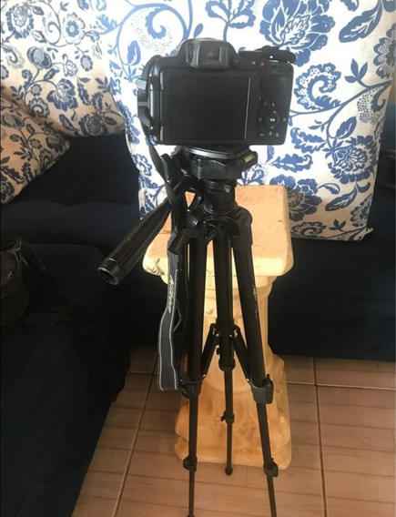 Camera Nikon P520 + Tripé