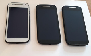 Lote Moto E2 16gb 4g Dual - 04 Peças (leia Toda Descrição)