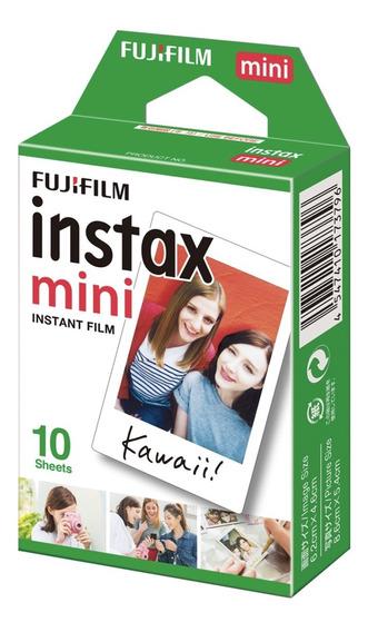 Filme Papel Para Instax Mini 10 Fotos 5,4 X 8,6 Fujifilm