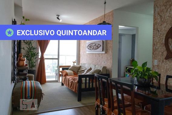 Apartamento No 8º Andar Com 2 Dormitórios E 2 Garagens - Id: 892978704 - 278704