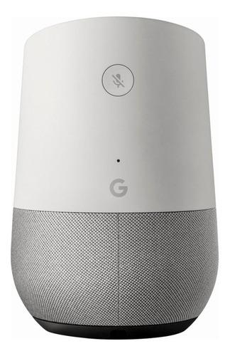 Imagen 1 de 3 de Google Home con asistente virtual Google Assistant white y slate 110V/220V