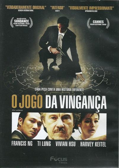 Dvd O Jogo Da Vingança - Asiático - Francis Ng - Ti Lung