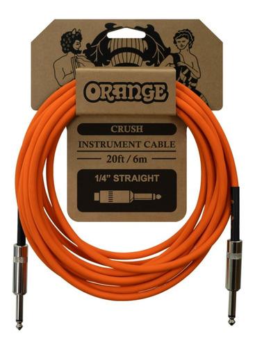 Imagem 1 de 2 de Cabo Orange Crush Instrument Cable (20ft - 6m)