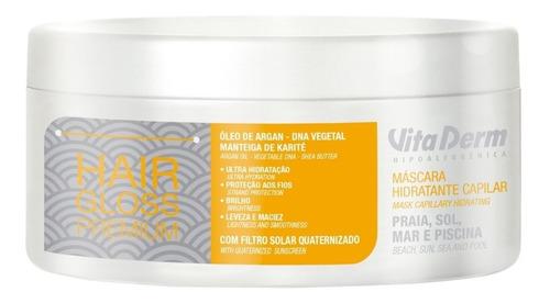 Mascara Capilar Hair Gloss Premium Vita Derm 300g