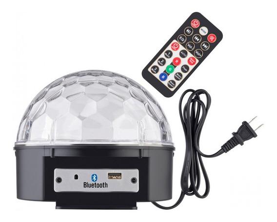 Parlante Portatil Portable Bola Luces Bluetooth Usb Futuro21