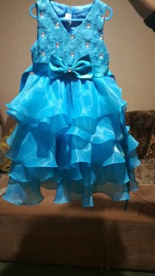 Vestido Infantil Barbie Galinha Pintadinha Cinderela Elsa
