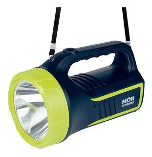 Lanterna Holofote Power Led 265 Lumens Mor Azul Com Verde - 9184 Promoção Full