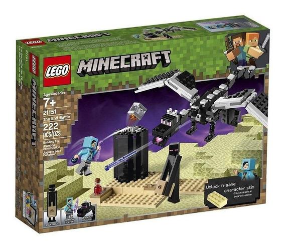 Lego Minecraft - Batalha Final - 21151