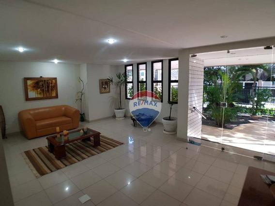 Na Melhor Área Do Recreio - Apartamento Com 2 Dormitórios À Venda, 78 M² Por R$ 495.000 - Recreio Dos Bandeirantes - Rio De Janeiro/rj - Ap0249