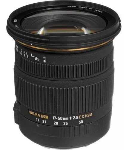 Lente Sigma 17-50mm 2.8 Para Canon