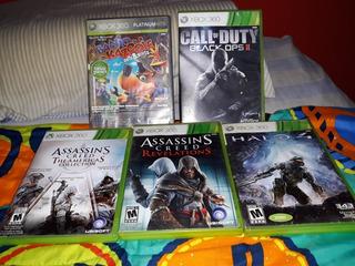 Juegos Para Xbox 360 Y Xbox One Cod Black Ops 2, Halo 4, Etc