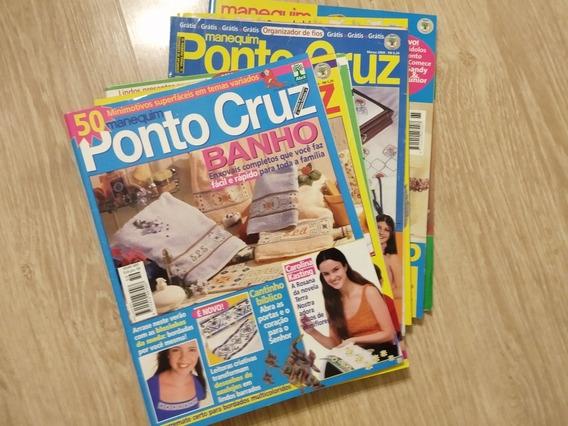 Ponto De Cruz - Revistas Ponto Cruz (lote Com 10 Unidades)