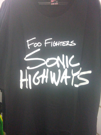 Camisa Foo Fighters Sonic Highways Tour Brazil (nirvana)rock