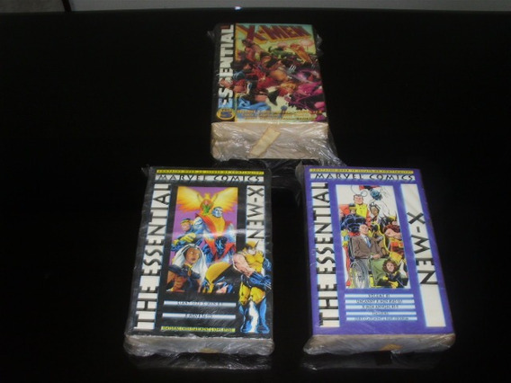 Hq Essential X-men 1 A 10 Importadas P&b Marvel Falta 4 6 9