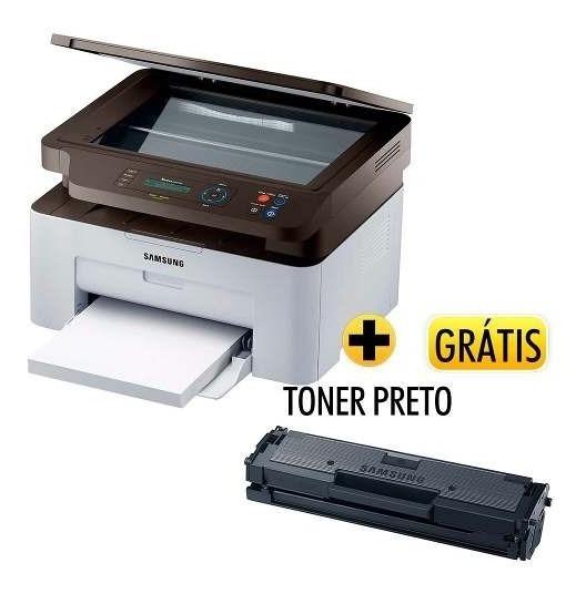 Multifuncional Laser Xpress Sl-m2070w Toner Samsung+grátis