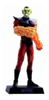 Miniatura Marvel Eaglemoss Super Skrull 30 Omega Vermelho 60