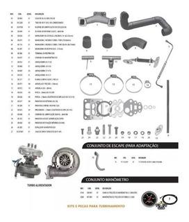 Kit Turbo Pick Up D10 D20 Veraneio Bonanza Q20b Com Garrett
