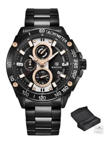 Relógio Masculino Benyar 100% Funcional À Prova D