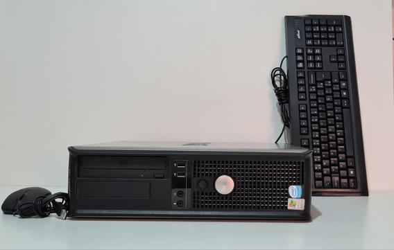 Cpu Dell Gx745 Media Dual Core 4gb Ddr2 160gb Hd
