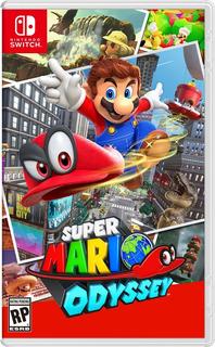 Super Mario Odyssey Switch /disco Fisico