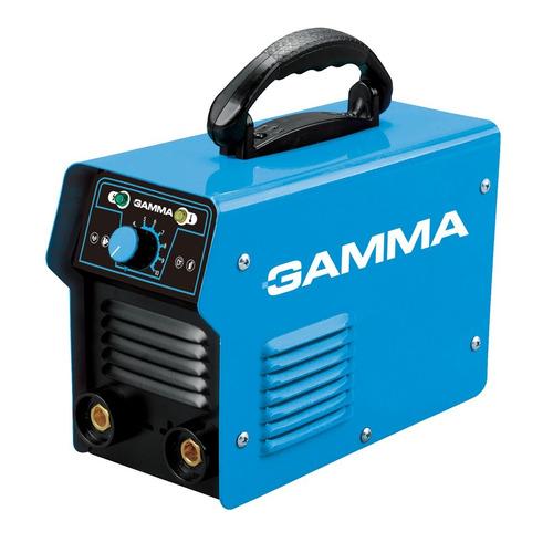 Imagen 1 de 5 de Soldadora Eléctrica Inverter Arc 130 Gamma 130 Amp - 3,2mm