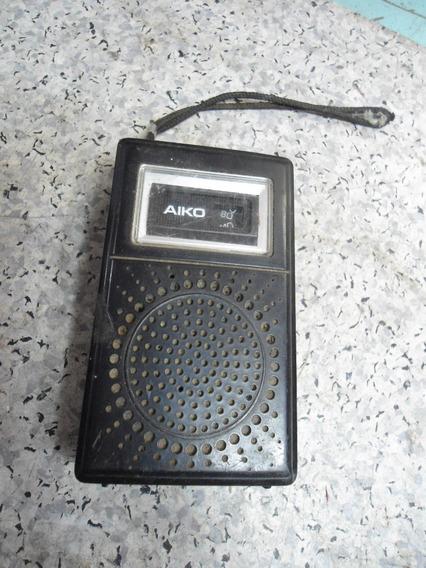Rádio De Bolso Aiko 6x-620 - No Estado