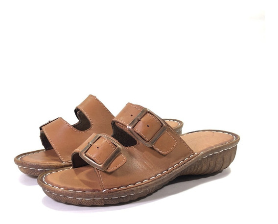 Mallorca 107 Sandalia Cuero Cómoda El Mercado De Zapatos!!!