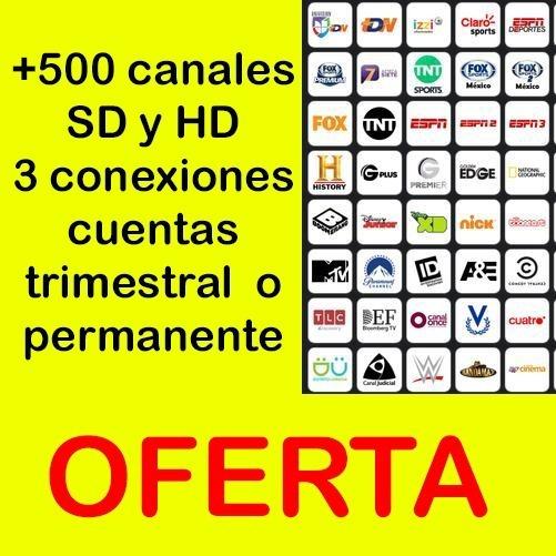 T.v Inter Digital Oferta! Demo Hd Trimestral O Permanente