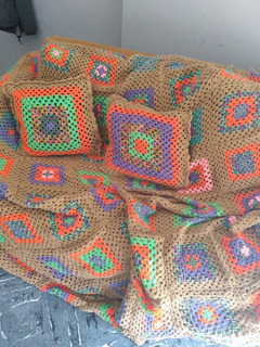 Cubrecama Tejida A Crochet